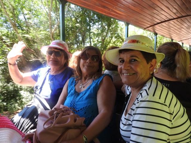 Iguaza Train Passengers