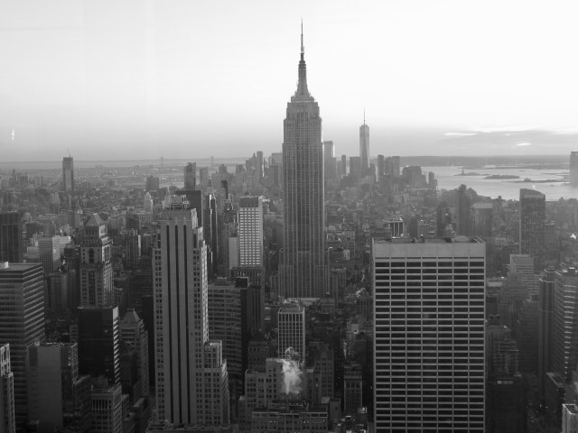 View of Manhattan from the Top of the Rock (Rockefeller Centre)