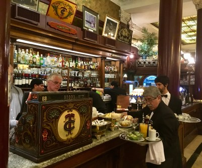 Tortoni Cafe, Buenos Aires