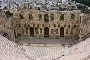 The Ancient Odeon of Herodes Atticus Theatre, Athens