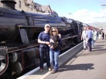 The Jacobite Steam Train, Fort William, Scotland