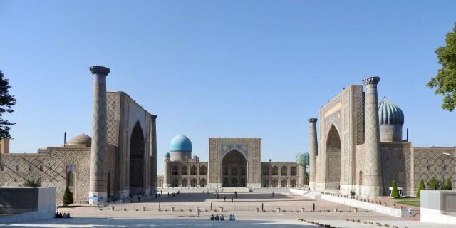 The Registan, Samarkand, Uzbekistan