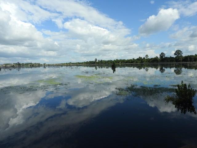 Lake, Siem Reap Province, Cambodia