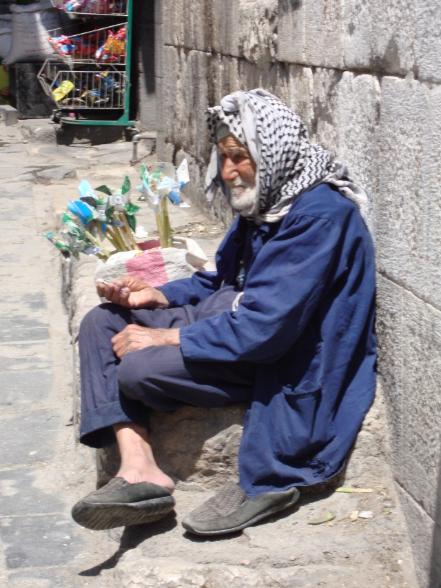 Windmill Salesman, Damascus Souk, Syria