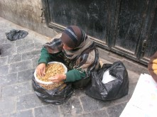 Walnut Seller, Damascus, Syria