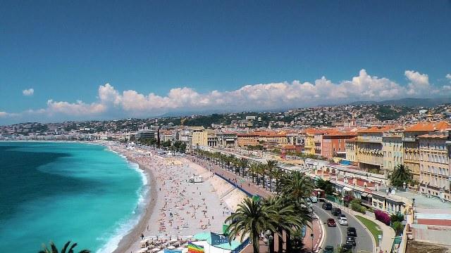 La Promenade des Anglais, Nice, France