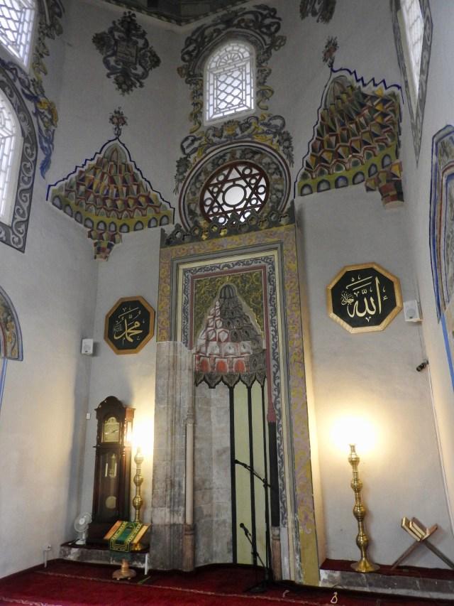 Interior Prizren Mosque, Kosovo