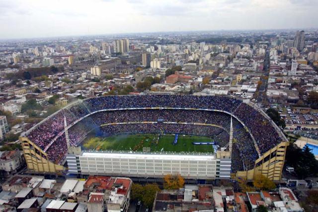 La Bombonera (the Chocolate Box), Boca Juniors