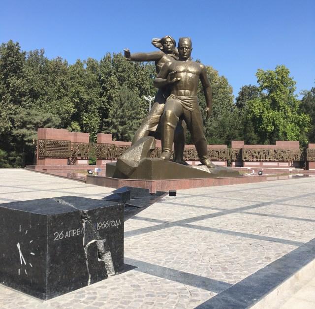 Monument of Courage, Tashkent, Uzbekistan
