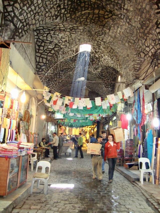 Aleppo Souk, Syria