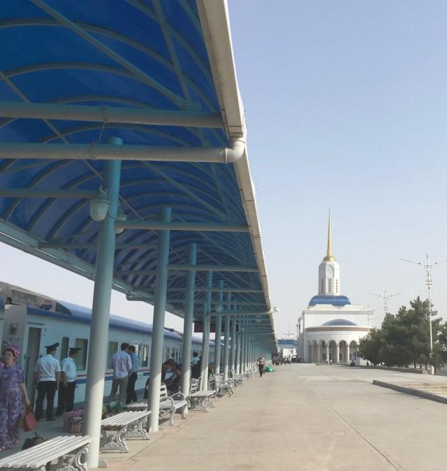 Ashgabat Train Platform, Turkmenistan
