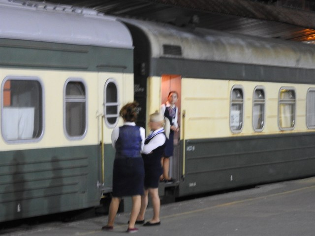 Tbilisi to Baku Train -Provdonistas Await Passengers