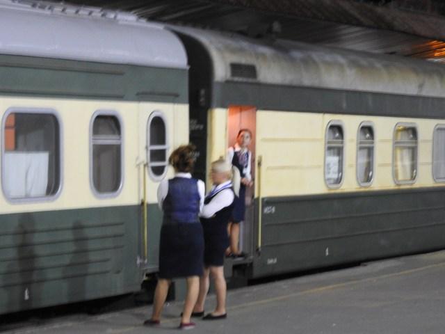Tbilisi to Baku Train -Provdonistas Await Passengers
