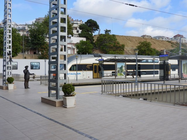 New Train Situated in Baku