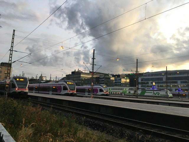 Helsinki Trains