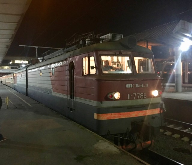Night Train, Tbilisi to Baku