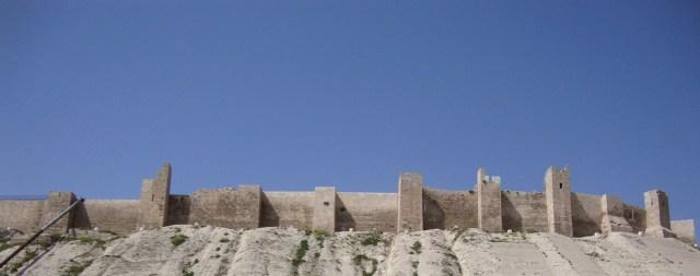 Aleppo Citadel Walls, Syria
