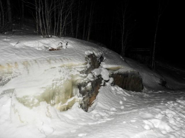 Frozen Water, Narvik, Norway