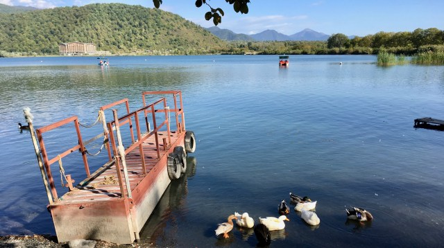 Nohor Lake, Azerbaijan