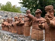 Terracotta Sculptures, Sheki, Azerbaijan