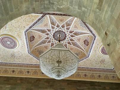 The ceiling of the Juma Mosque, Shamakhi, Azerbaijan
