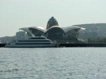 deniz waterfront building, baku