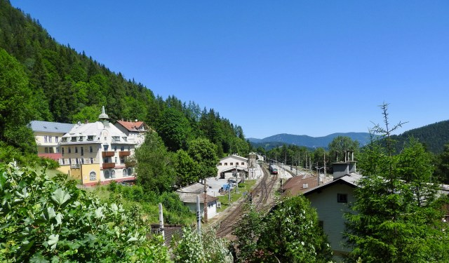 Semmering Train Station & Railway Hotel