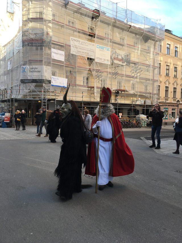 Krampus & St Nicholas, Salzburg