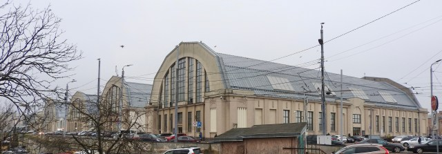 Central Market Buildings, Riga