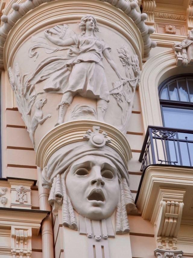 Riga Art Nouveau Detail 4
