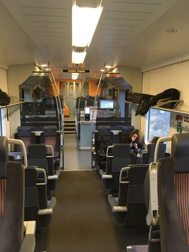 Interior Estonian Train