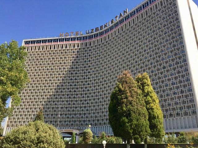 Hotel Uzbekistan, Tashkent, Uzbekistan