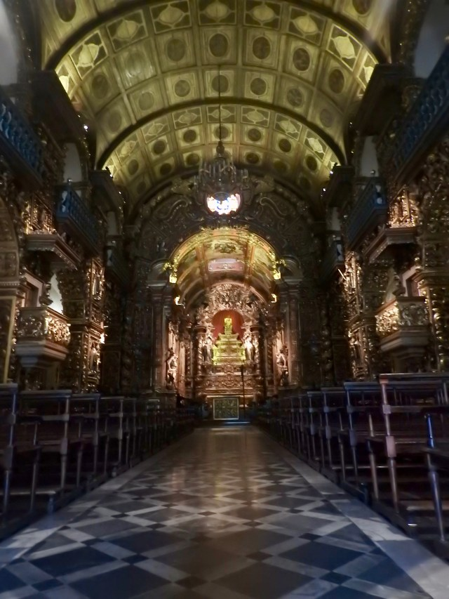 The Abbey of Our Lady of Montserrat, Rio de Janeiro