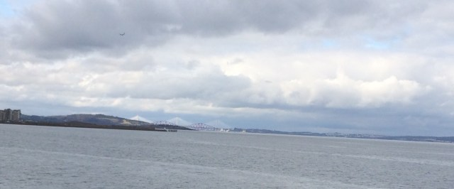 Firth of Forth, Bridge in Distance, Edinburgh