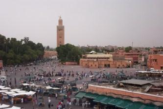 Marrakech Koutoubia Mosque & Djemaa El Fna