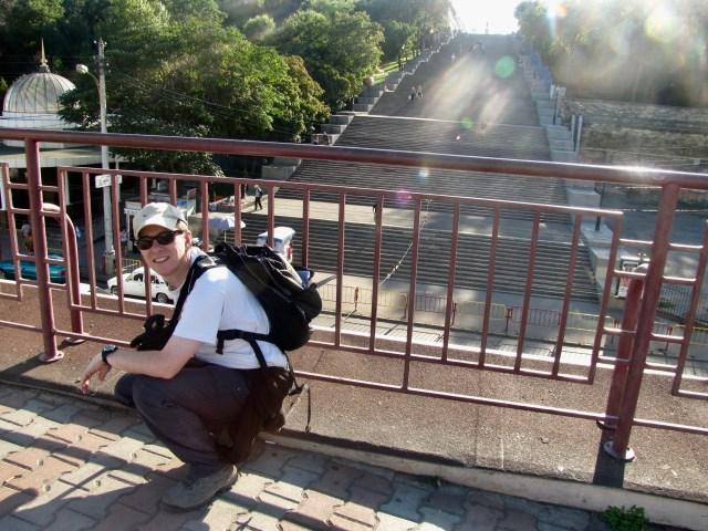 Potemkin Steps, Odessa, Wilbur