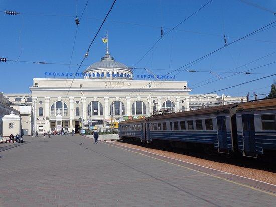 Odessa Train Station, Ukraine