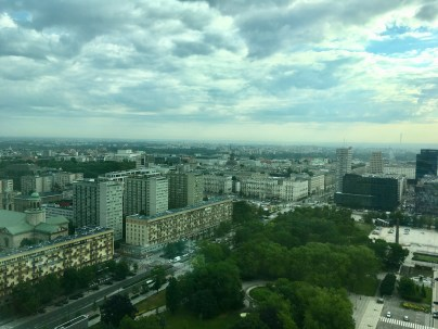 Warsaw Hotel View