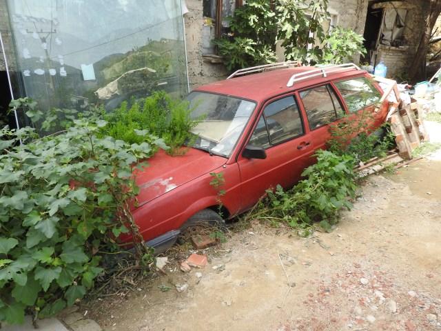 Old Car, Tirana, Albania