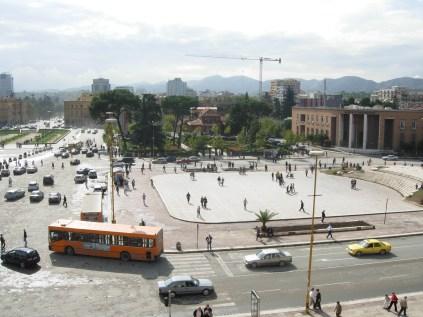 View of Sqaure, Tirana