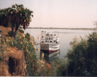 Our Boat On The Nile, Egypt