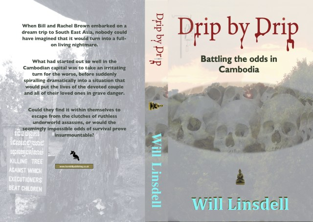 Drip by Drip Book, Amazon - a thriller set in Cambodia