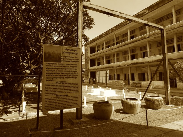 Tuol Sleng, The Gallows, Phnom Penh, Cambodia