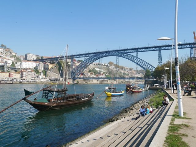 The Dom Luís I Bridge, Porto