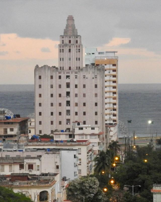Edificio López Serrano Apartments in Havana, Cuba