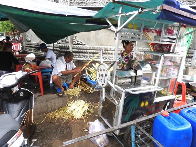 Street Eating Place, Phnom Penh, Cambodia