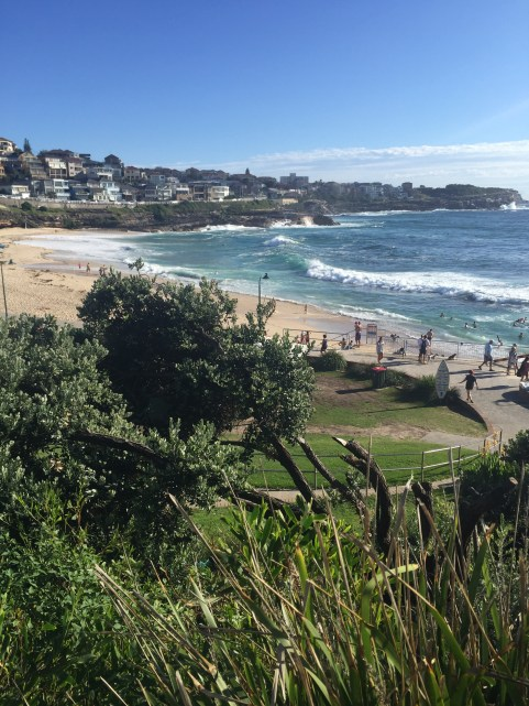 View of Bronte Beach looking North.