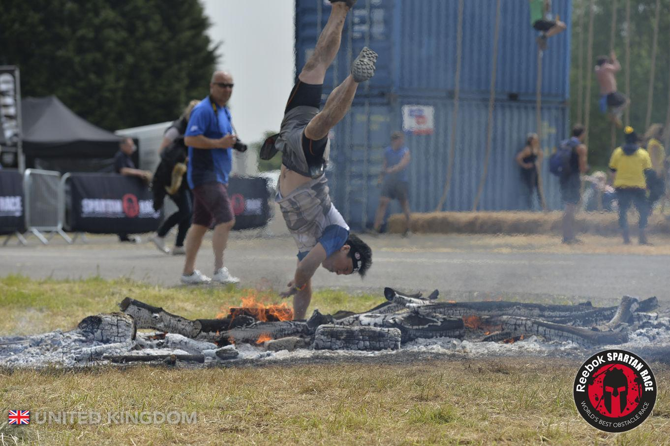 Spartan Super Midlands Fire Jump