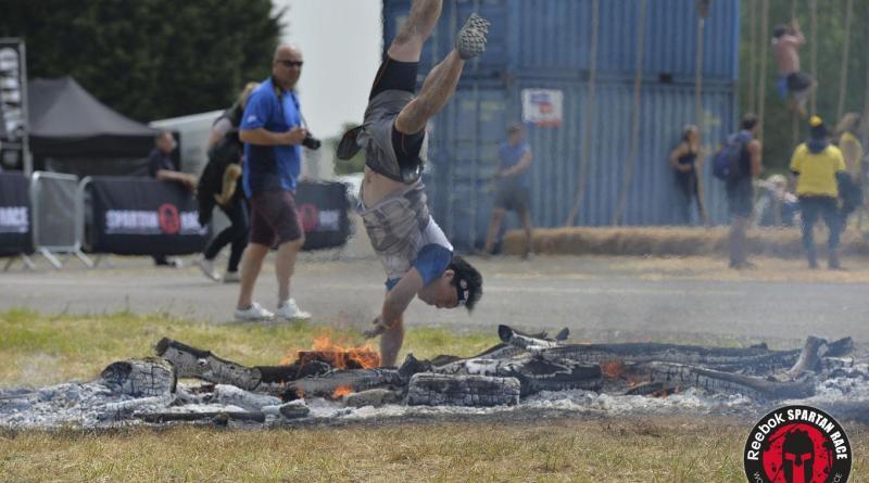 Spartan Super Midlands Fire Jump