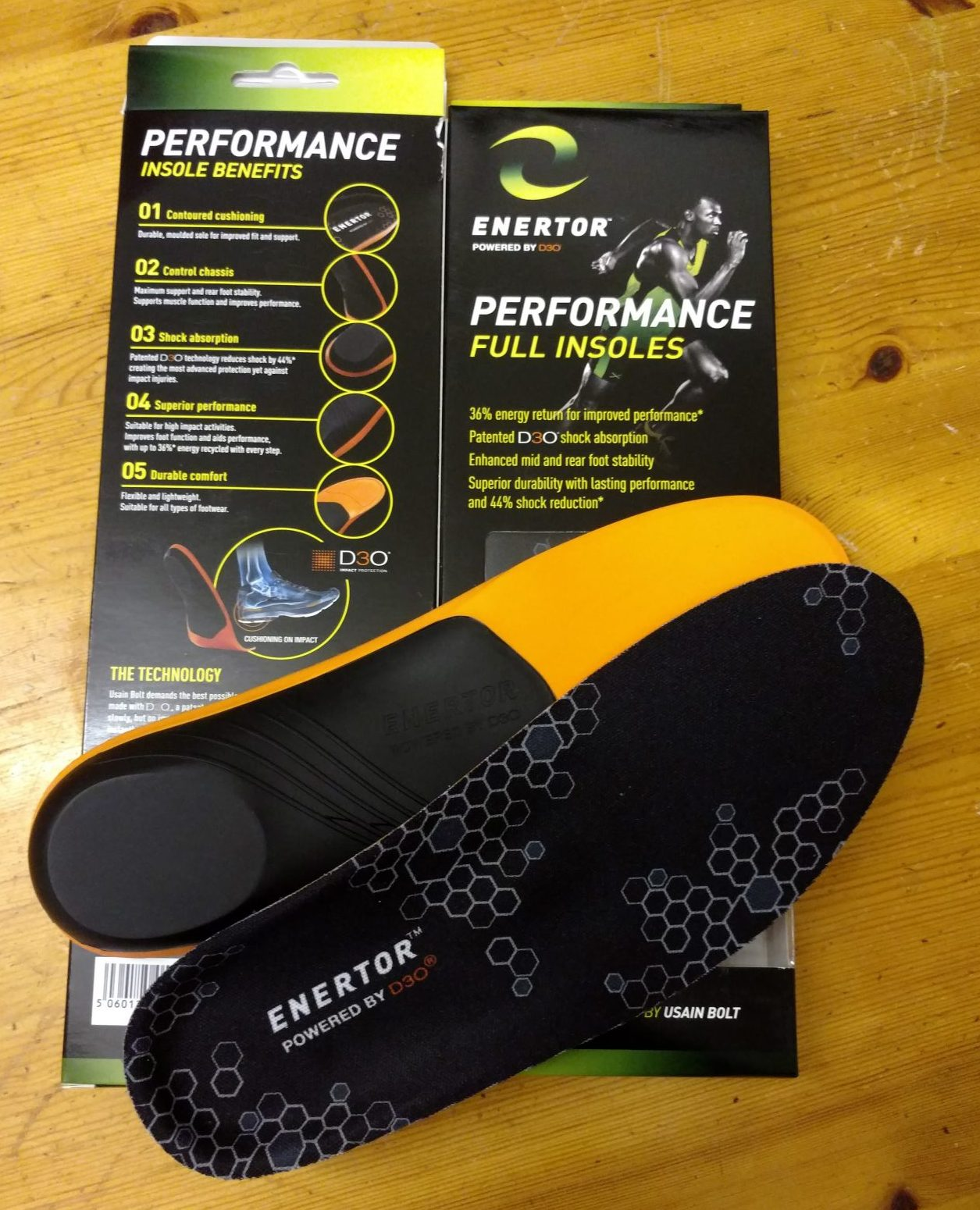 Enertor Performance Insoles